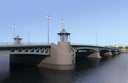 Ново-Адмиралтейский мост слишком петербургский