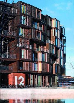 Сверхскульптура. Общежитие Титген в Копенгагене