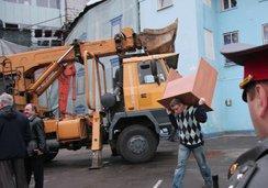 Москва: бульдозеры уничтожают прошлое
