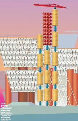 Plug-in-City можно расположить в любой местности, авторы даже предлагали «перекидывать» его через уже существующие поселения. Иллюстрация: Сергей Радионов