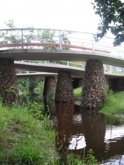 Мост Гланербек в Энсхеде. 2007