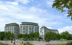 Mixed-use complex with Kempinski hotel in Minsk