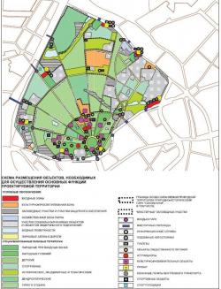 Проект планировки парка культуры и отдыха «Сокольники»