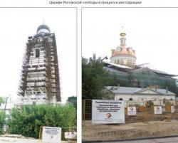 Новая жизнь памятников в Рогожской Слободе