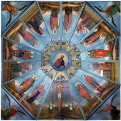 Небеса ручной работы. Отреставрированы расписные потолки деревянных храмов архангельского Севера
