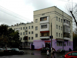 Москва. Капотня (2-й квартал). Жилые дома конца 1930-х - начала 1950-х годов