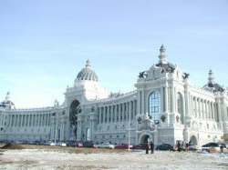 Ампир во время чумы. В Казани построен невиданный дворец для чиновников от сельского хозяйства
