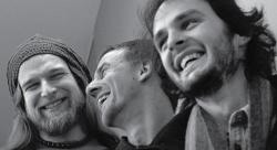 Георгий Снежкин, Сергей Аксенов, Илья Спиридонов (слева–направо) получили премию Shinkenchiku Residential Design Competition-2009. Фото Элины Соболевой