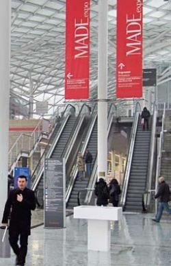 Миланскую Rho-Fiera, где проходила выставка MADE expo, проектировал знаменитый Массимилиано Фуксас. Фото Егора Янина