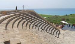 Античный театр II века до н.э. в окрестностях Лимассола