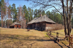 Латвийский этнографический музей - история деревенского деревянного зодчества