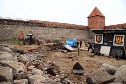 Замок Гедимина в белорусской Лиде