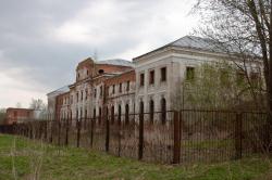 Ярополец, Усадьба Гончаровых и Казанский храм. Май 2010