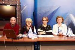 Слева направо: Андрей Мунц, Инга Абаева, Зоя Андреева, Нона Азнавурян. Фото Татьяны Колесниковой