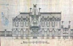 Работы Каминского на выставке были представлены рисунками, а также акварелями и фотографиями. Графика Александра Каминского