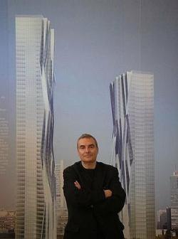 Две самые высокие башни Австрии -- 200-метровая и 160-метровая -- доверены французу Доминику Перро