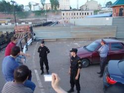 В столице Удмуртии снесен исторический памятник, несмотря на протесты граждан и Управления Росохранкультуры по Приволжскому федеральному округу (фото)