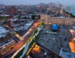 Парк-эстакада High Line, Нью-Йорк Архитекторы: James Corner Field Operations, Diller Scofidio + Renfro