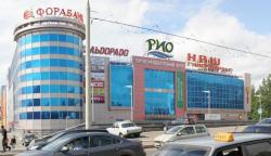 «Индейские» мотивы на въезде в Ярославль