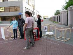 Инсталляции на тему конструктивизма в Челябинске