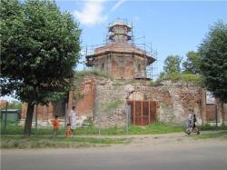 Церковь Сретения Господня в Серпухове и её окрестности