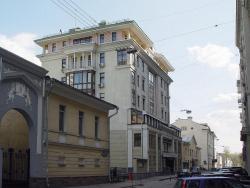 Жилой дом в Староконюшенном пер.