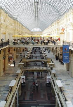 Реконструкция здания Большого ГУМа