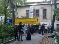 Слет активистов в защиту дома Волконских