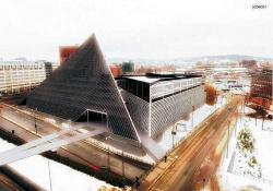 Эскизный проект Национального музея в Вестбанене, г. Осло