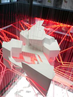 Архитектурная инсталляция «0,03...0,3...3,0...30...300...3000... Тройка или ноль?»