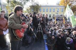 Юрий Шевчук: «Мы не должны сидеть и молчать»