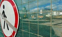 Боровицкую площадь зачистили от строителей