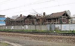 В Москве погибает последний деревянный вокзал