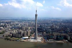 Телевизионная и смотровая башня Canton Tower