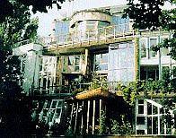 """Экодом"" на набережной Ландверканала (Okohaus, Landwehrkanal) Фрай Отто и Герман Кендел  (Frei Otto/ Hermann Kendel)"