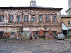 Руины Казани: Дом, в котором жил Петр I