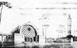Проект ДЖД в ПКиО имени Сталина в Москве