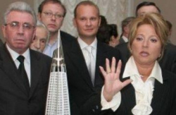 Почему Матвиенко решила перенести Охта-центр?