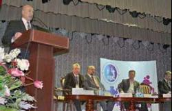 Президент САР Андрей Боков говорил о ключевых вопросах развития городов фото: Захар Шуклин