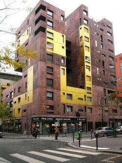 Комплекс социального жилья в районе Массена-Север, Париж. 2007