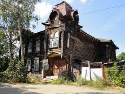 Деревянный модерн города Кимры и Фотошоп Фотошопович