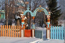 Деревянная сказка Егора Утробина