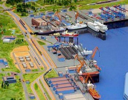 ПРоект порта Усть-Луга. Иллюстрация: http://www.transmap.ru