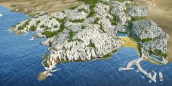 Конкурсный проект курортного поселка в г.Лима (Перу)