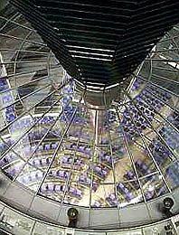 Купол Рейхстага. Интерьер