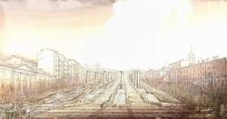 Фонтан на Трубной площади (проект)