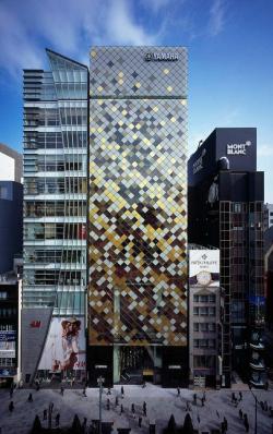 Здание Yamaha Ginza