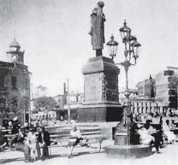 Тверские ворота Москвы