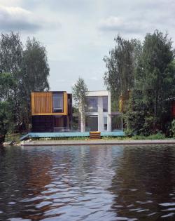 Yachtsmen′s house by Vladimir Plotkin