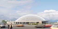 Легкоатлетический комплекс в Московском районе Санкт-Петербурга